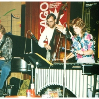 Kathy Kelly & Vibrafon at the Chicago Jazz Festival in '91